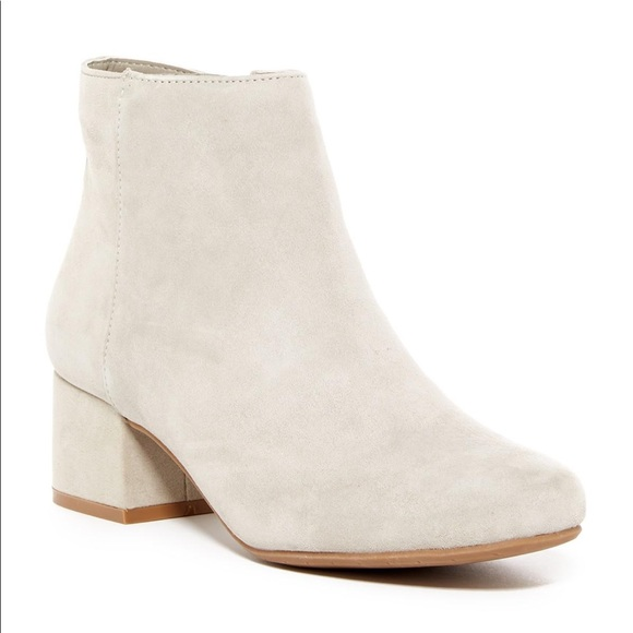 Kenneth Cole Reaction Beige Suede Ankle Boot
